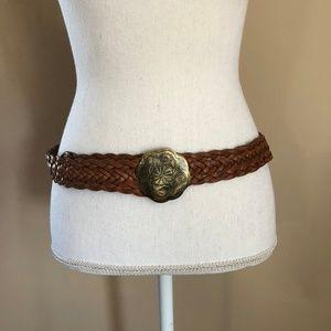 AEO | NWOT Genuine Leather w/ Flower Buckle S/M
